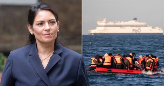Priti Patel 'considered shipping asylum seekers to centres on remote volcanic islands'