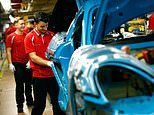 Eurozone factories suffer worst month for more than six years as turmoil hits car sales