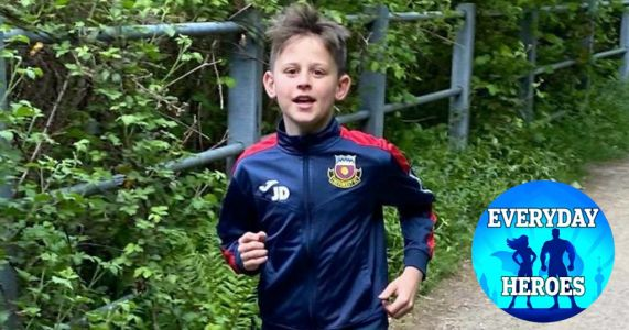 I'm 10 years old and running 250km in a month to raise money for the NHS