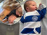 Jemima Khan shares first snaps of Kate Rothschild's newborn son after daughter death