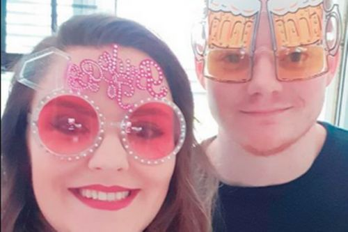 Scots couple on lockdown have hilarious joint stag and hen do 'Sten Do' at home