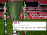 Football fans mock EFL Cup as tournament becomes The Papa John's Trophy after pizza sponsorship