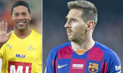 Lionel Messi: Barcelona hero Ronaldinho refuses to name star as greatest player in history