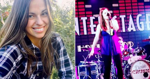 Dixie Crush singer Lindsey Lagestee dies aged 25 after being hit by a car