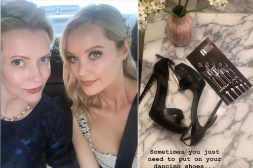 Laura Whitmore 'puts on dancing shoes' for BRIT Awards 2020 as fellow celebrities get red carpet ready