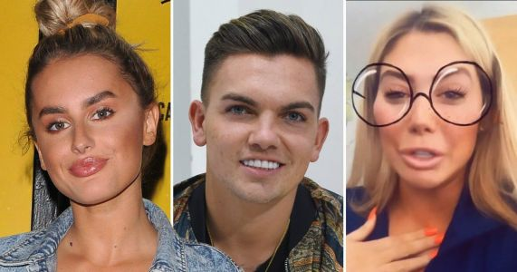Chloe Ferry shares Amber Davies and Sam Gowland 'messages' as Love Island stars insist they didn't have sex