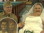 Couple who never had a real wedding celebrates 75th anniversary with vow renewal and party