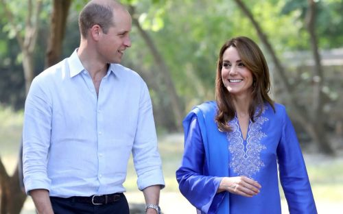Duke and Duchess of Cambridge visit school for girls in Islamabad on day two of Pakistan royal tour