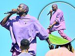 Kanye West sends fans wild as he debuts new track Water during Sunday Service at Coachella