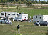 Travellers invade Prince Charles' 'designer village' of Poundbury
