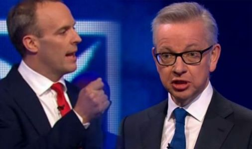 Dominic Raab and Michael Gove CLASH over no deal Brexit - 'Against will of Parliament'