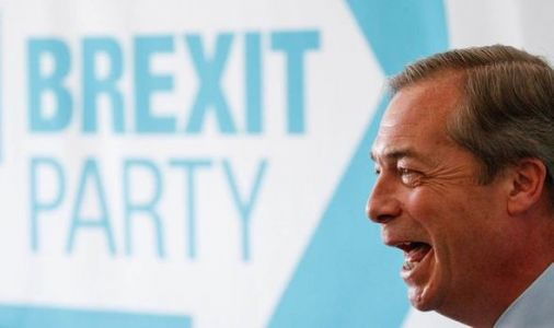 Brexit Party poll: Nigel Farage's party would WIN general election - UK polls tracker