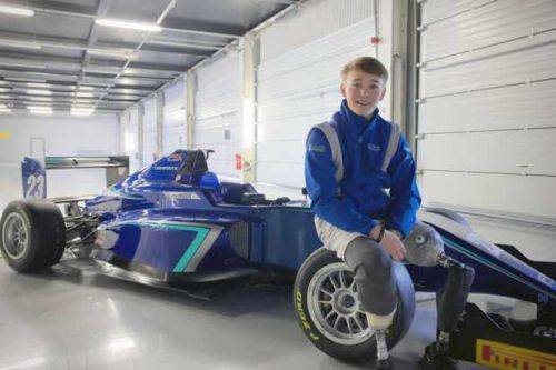 Who is Billy 'Whizz' Monger? Meet the 17-year-old racing driver rebuilding his life after a horror crash
