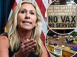 Marjorie Taylor Greene accuses businesses who ban unvaccinated of segregation