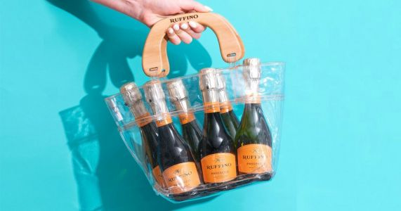 There's now a waterproof handbag for all your Prosecco