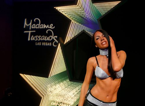 Aaliyah gets her own waxwork and it has the family's seal of approval
