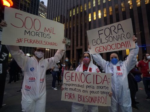 Brazil hits 500,000 COVID-19 deaths as the Amazon Gamma variant accelerates virus contagion