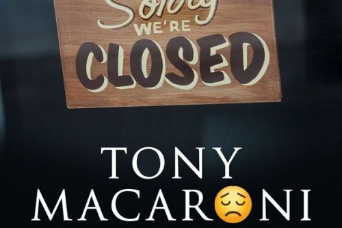 East Kilbride's popular Tony Macaroni closes its doors amid coronavirus outbreak
