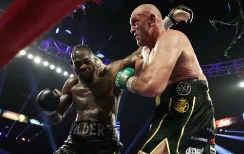 Frank Warren rules out Tyson Fury vs Deontay Wilder happening behind closed doors