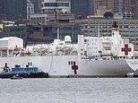 Multiple coronavirus patients are mistakenly transferred to New York hospital ship