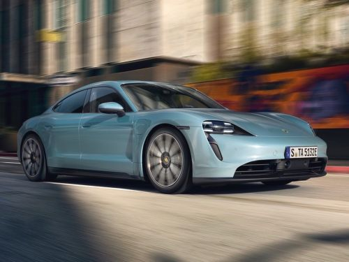 Porsche just unveiled the most affordable version yet of its stunning Tesla rival
