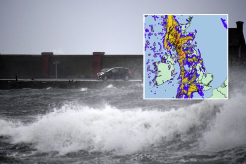 Scotland braced for floods and travel disruption as Icelandic storm to dump 40mm of rain