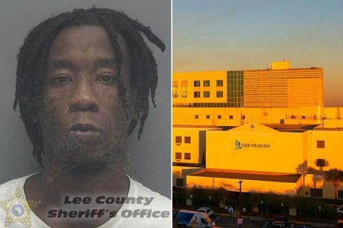 Hospital worker, 23, arrested for 'sucking pensioner patient's toes in bed'