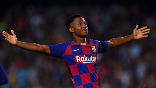 Ansu oozes confidence in 9/10 showing as 16-year-old leads Barca past Valencia