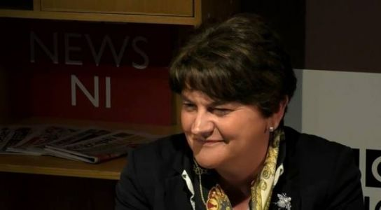 DUP's Arlene Foster admits to mistakes during leadership saying 'we are all human'