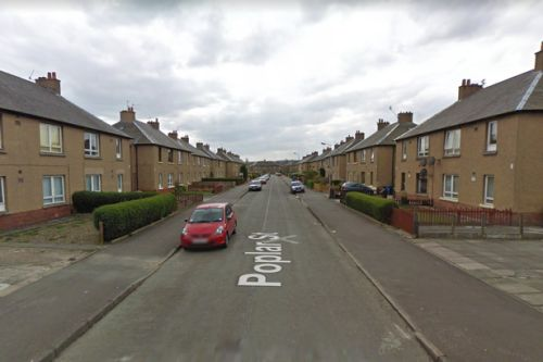 Thug left neighbour with blood pouring from head as he tried to prevent Grangemouth domestic