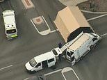 Woman's body is found on the side of a busy intersection in St James Perth