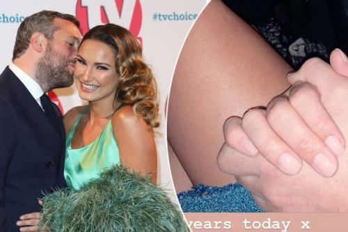 Sam Faiers and Paul Knightley celebrate five year anniversary with romantic London date night