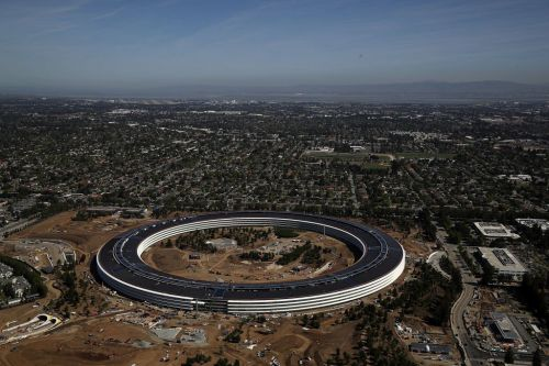 This video gives a rare look inside Apple's $5 billion 'spaceship' headquarters