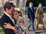 RICHARD EDEN: Princess Beatrice and fiance pick his three-year-old son Wolfie to be best man