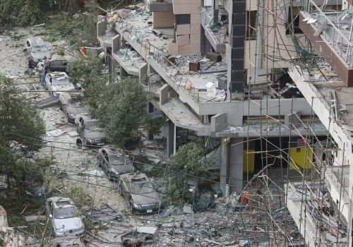 I lived in four apartments within a kilometer of the explosion in Beirut yesterday. Two of them are now completely destroyed