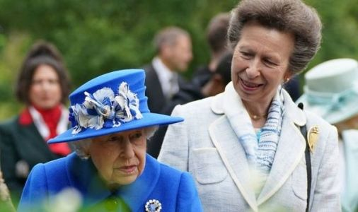 'Hardest working royal!' Princess Anne honours two trailblazers amid Queen's setback