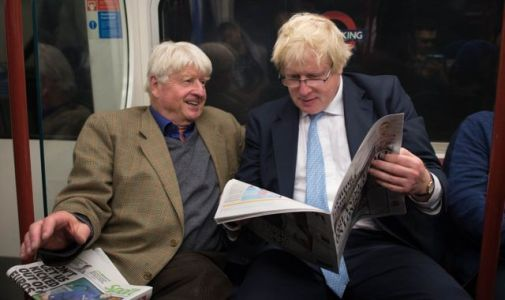 Boris Johnson's dad Stanley says PM 'took one for the team' with coronavirus but son 'isn't out of the woods'