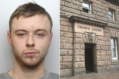Thug blinded man with broken bottle and set another on fire leaving him scarred for life