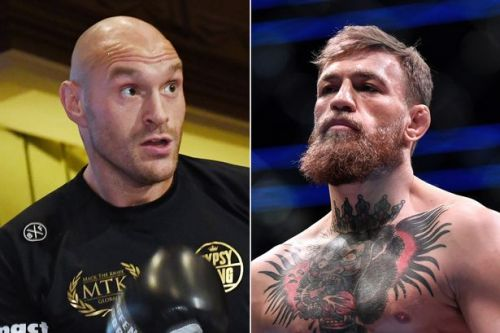 Tyson Fury backs Conor McGregor to return to boxing as Gypsy King attends UFC 246