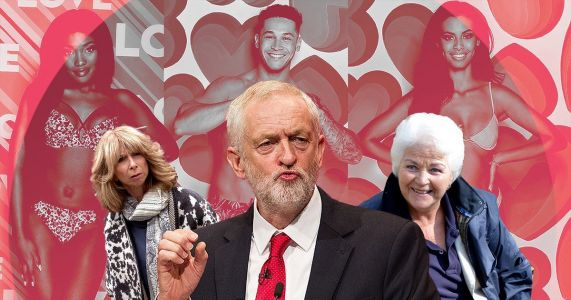 Love Island stars reveal Jeremy Corbyn, Gail Platt and Pat Butcher as their 'guilty crushes'