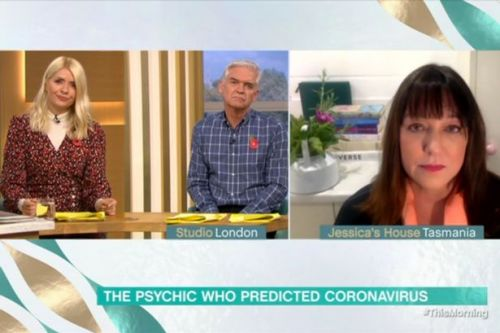 Psychic who predicted coronavirus tells Holly and Phil their futures