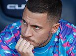 Eden Hazard is told to 'put up' with his limited game time at Real Madrid