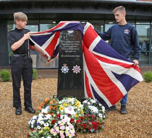 New memorial for North Yorkshire's Police and Fire officers and staff