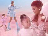 Kylie Jenner shares dreamy video with daughter Stormi, three, wandering ina childhood fantasy world