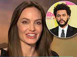 Angelina Jolie gives a VERY frosty response when asked about The Weeknd