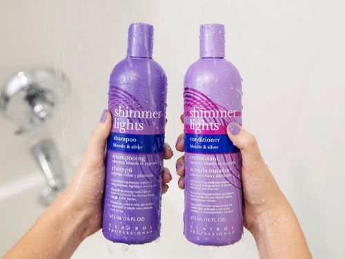 This purple shampoo is my secret weapon for extending the life of my highlights and keeping my blonde hair from looking brassy