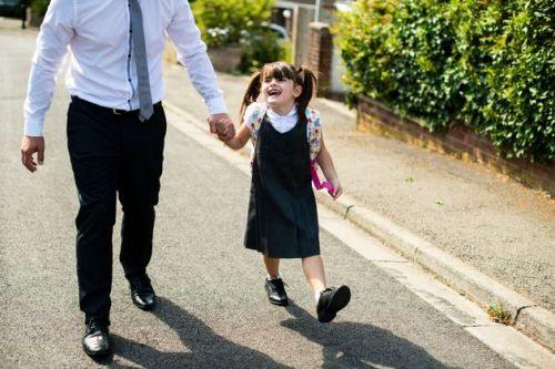 Here's Why You Should Walk Your Child To School On Monday
