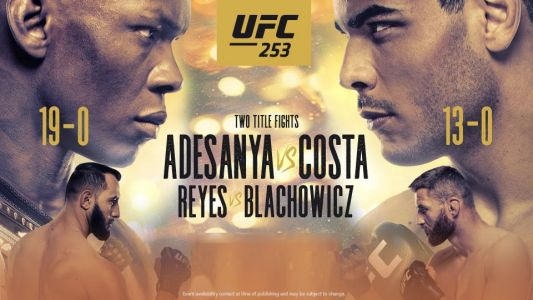 UFC 253 live stream: how to watch Adesanya vs Costa from anywhere
