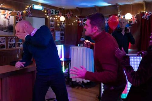 EastEnders' Max discovers Jack's surprising secret as a brawl erupts
