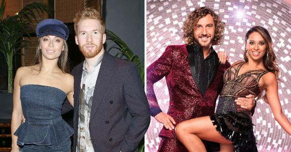 Katya Jones and husband Neil 'separated' again for Strictly Come Dancing routine tonight after Seann Walsh snog